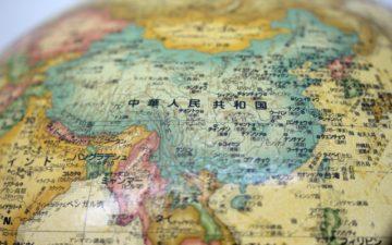 中国大陸地図